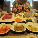 名家韓國餐廳照片