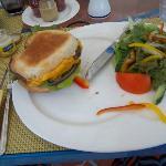 The $22.00 US Dollar cheeseburger (No joke)