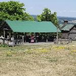 Pavillion on grounds