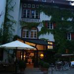 Eingang zum Schloss-Restaurant