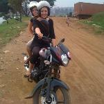 Two girls on their own motorbike tour( self drive)