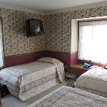 Typical room - 3 twin beds