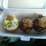 Key lime and german chocolate