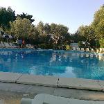 una delle varie piscine...quella che amo di più