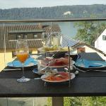 Breakfast in the Terrace