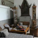 Common living room in the garden suites