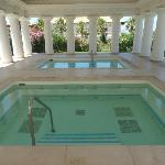 Spa outside pools