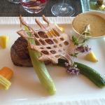 Le filet de bœuf sauce Charlemagne