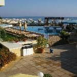 Thalassa pool early in the morning