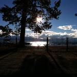 Beautiful Tahoe just a block or so away.