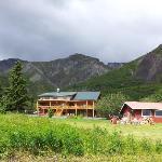 Cabins, main lodge, bunkhouse