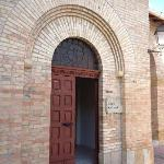Entrance to the Mussolini family crypt