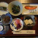 Japanese breakfast! (and there was more, too!)