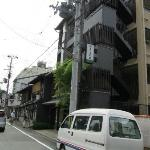 View from street approaching Matsubaya