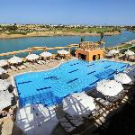 Pool with Golf View at Steigenberger El Gouna