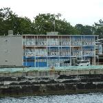 Motel from the breakwater