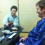Yoshimura san serving more beer!