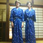 Boys in Yukata for Kaiseki meal