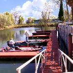 Anchorage Inn Lakeport CABoat Dock