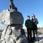 Memorial to high-country sheepdog, Lake Tekapo