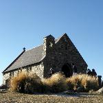 Church of the Good Shepherd, Lake Tekapo, 3 minutes from the resort