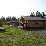 View of other cabins from ours