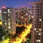 vue du 20ème étage coté ville