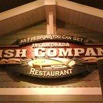 Restaurant sign inside Bass Pro