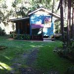 Whistlestop cabin