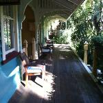 Whistlestop verandah