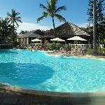 Une photo de la grande piscine