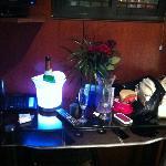 Champagne, roses et LoveBox en cabine...