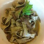 House Pappardelle with Venison