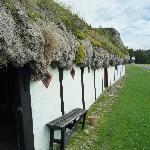 Indgangsparti til Museumsgården Læsø