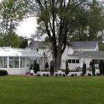 View of yard behind Main House