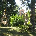le jardin et le hamac