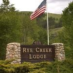 Rye Creek Sign