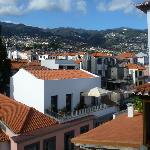 View toward the hills behind Funchal