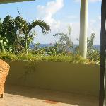 view from villa bev