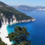 Myrtos Beach (One Of The Best Beaches In The World)