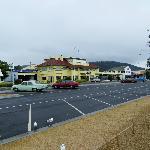 along beach road
