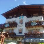 L'hotel all'esterno