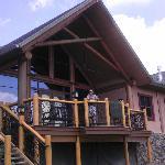 Love this porch/deck!