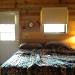 King Bed in Cabin 6