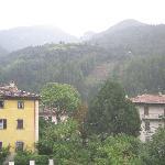 panorama dalla camera dell'albergo