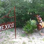 Outside Mexico sign