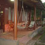 Verandah outside room