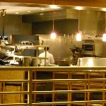 The kitchen at Chicago Fire Oven