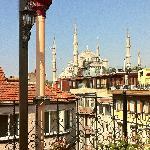 Attico per colazione su Moschea Blu