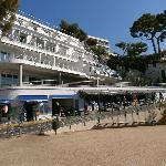 Hôtel vue de la plage